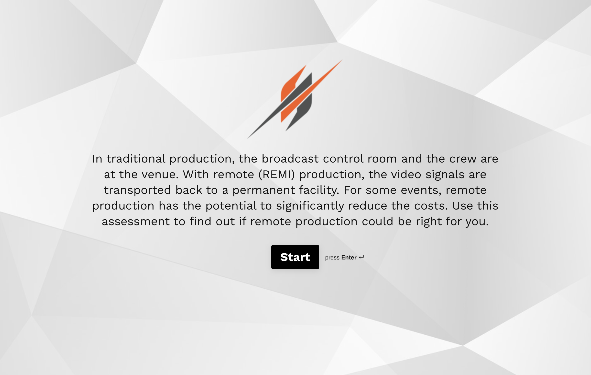 Remote REMI Production Assessment